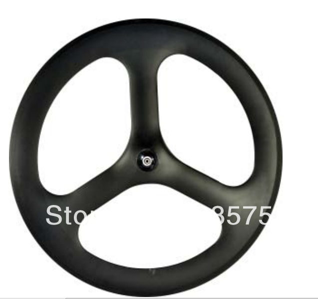 3 spoke wheel full carbon fiber with novatec hub clincher type 700C 20.5mm width 50mm clincher carbon bike wheel 25mm width bicycle wheel set novatec light weight hub 700c wheel set