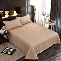 1 Pc bedspread +2pcs Pillowcases bedding set europe Bedding Bedspreads sheet Bed For adults bed Cover 250x250cm/250x270cm