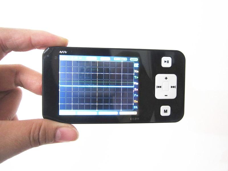 Mini ARM DSO211 Digital Oscilloscope Portable Pocket sized Nano Handheld Digital Storage Oscilloscope Diagnostic tool