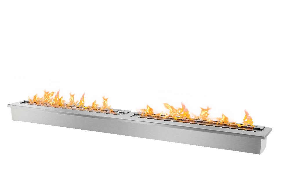 On Sale Bio Ethanol Fireplace With 62'' Burner Outdoor Fireplace
