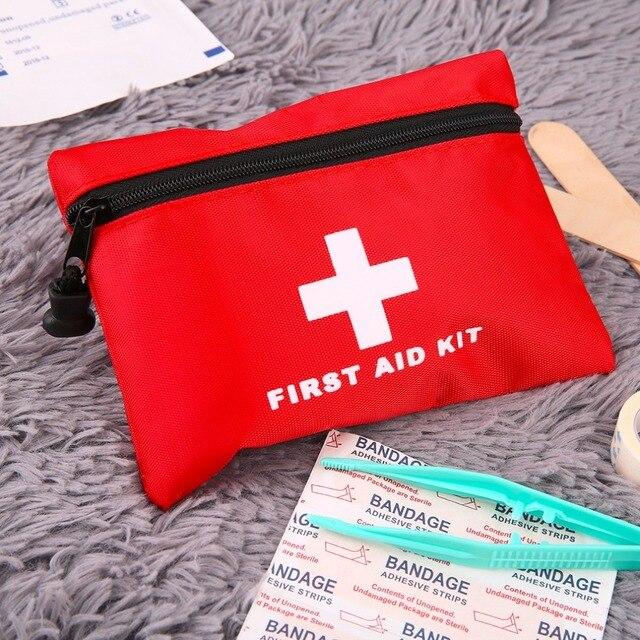 Waterproof Mini Outdoor Travel Car First Aid kit 8
