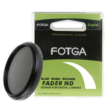 FOTGA Slim Fader Variable Adjustable ND Filter ND2 to ND400 43mm 46 49 52 55 58 62 67 72 77 82 86mm for Canon Nikon Camera цена