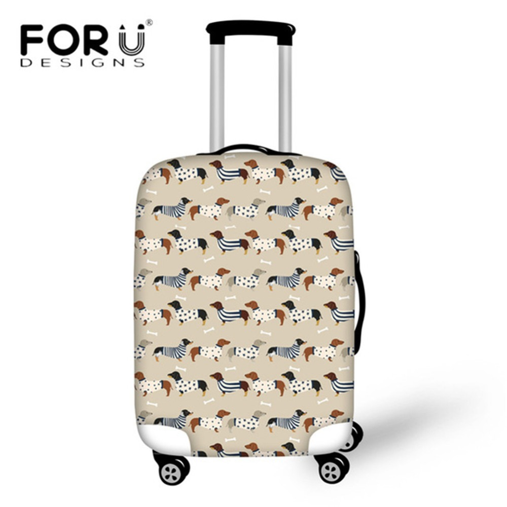 Coloranimal 3d Ball Print Suitcase Case Cover Waterproof Travel On Road Luggage Cover 18-30inch Welsh Corgi Protectiver Cover Discounts Sale Travel Accessories Luggage & Bags