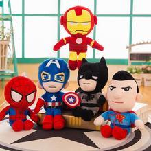 Marvel, Мстители, плюшевые игрушки, кукла, Человек-паук, Человек-паук, вдали от дома, капитан Черная пантера, Железный человек, Супермен, мягкая плюшевая кукла, игрушка