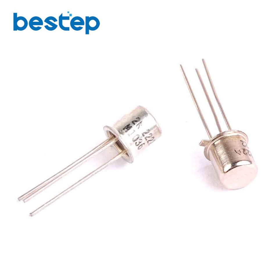 10 قطعة 2N2222A 2N2222 إلى 18 NPN 40V 0.8A الترانزستور transistor ...