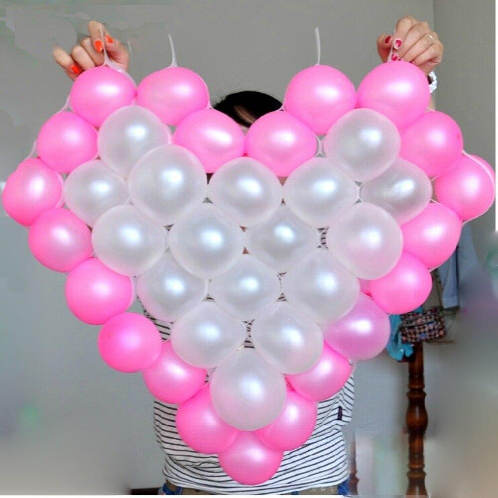 38 Grids Net Modell Rahmen Herzform Ballon Halter Grid Mesh Hochzeit ...