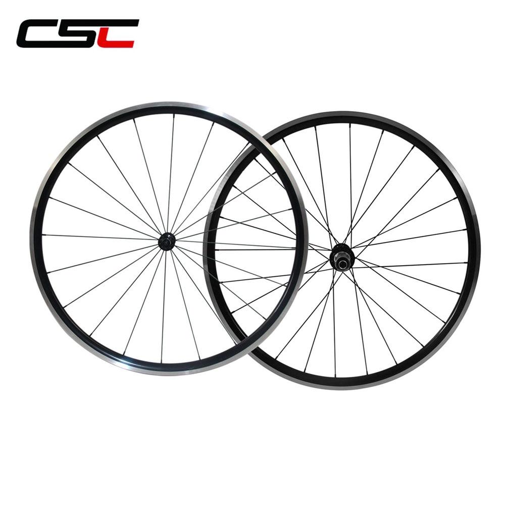 Super light Tubelss Kinlin XR26T Wheelset Clincher Aluminum Alloy Wheels