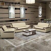 2019 new design italy Modern leather sofa ,soft comfortable livingroom genuine leather sofa ,real leather sofa set 321 seat 666A