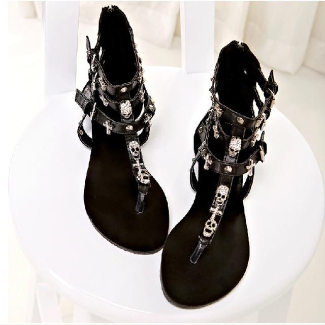 b60ffcc9ac3 2016 new fashion women sandals sexy rome cross flip flops women shoes T-shaped  hollow