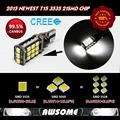 10x T15 W16W LED10W CANBUS  3535 21SMD LED Car Turn Singal 3rd Brake Stop Parking Light Bulbs1200LM-1400LM