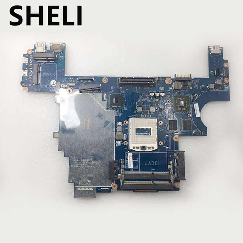SHELI для E6440 LA 9932P материнская плата CN 007KCN 07KCN DELL Inspiron Материнская ноутбука ATI graphics