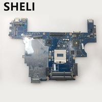 SHELI for E6440 LA 9932P mainboard CN 007KCN 07KCN For DELL Inspiron laptop motherboard ATI graphics