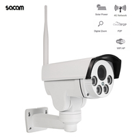 50W 4G GSM Network Solar IP Camera Support 5X Optical Zoom P2P CCTV HD Outdoor Security Surveillance Solar WiFi Camera