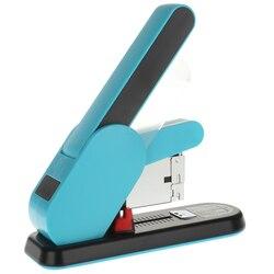 Низкомощный степлер тяжелого типа, переплет для скрепления 130-210 листов, вместительный степлер, металлический степлер, Escolar, Офисная поставк...