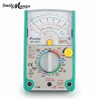 Hot 2018 High Quality Proskit MT 2017 AC/DC LCD Protective Function Analog Multimeter Free Shipping