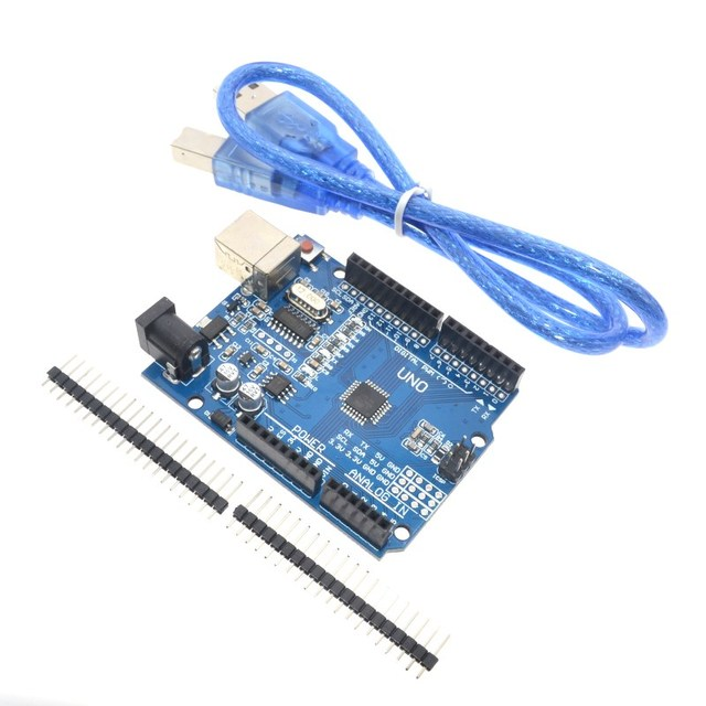 high quality One set UNO R3 (CH340G) MEGA328P for Arduino UNO R3 + USB CABLE ATMEGA328P-AU Development board 1