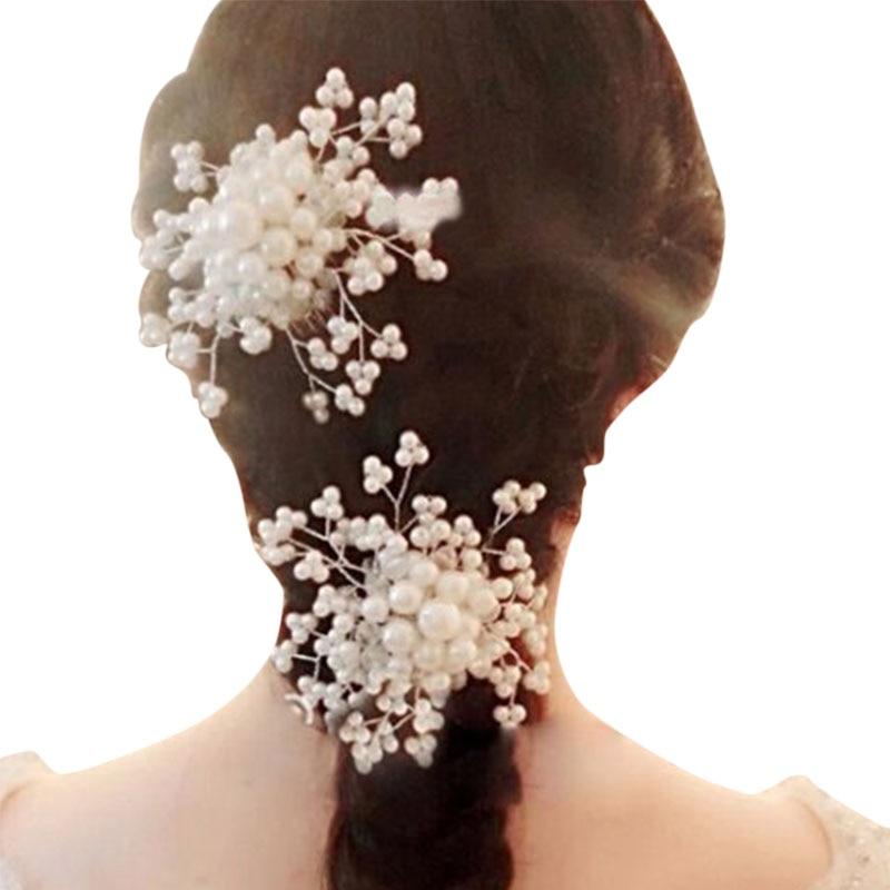Bridal Rhinestone Jewelry Diamante Hair Comb Clip Slide Prom Party Wedding Jewelry Hair Accessories M8694