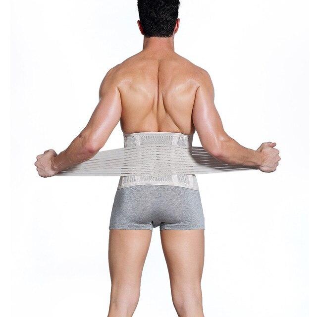 Men's Slimming Belt Body Shapers Belt Compression Corset Fitness Girdles Waist Cincher Trainer Trimmer Abdomen Fat Burning Tummy 2