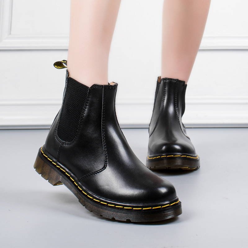 Doc Martins DHL Drop Transport British Classic Traditional Real Martin Boots male Thick Heel Bike Girls Sneakers Dr Martins Ankle Boots, Low cost Ankle Boots, Doc Martins DHL Drop...