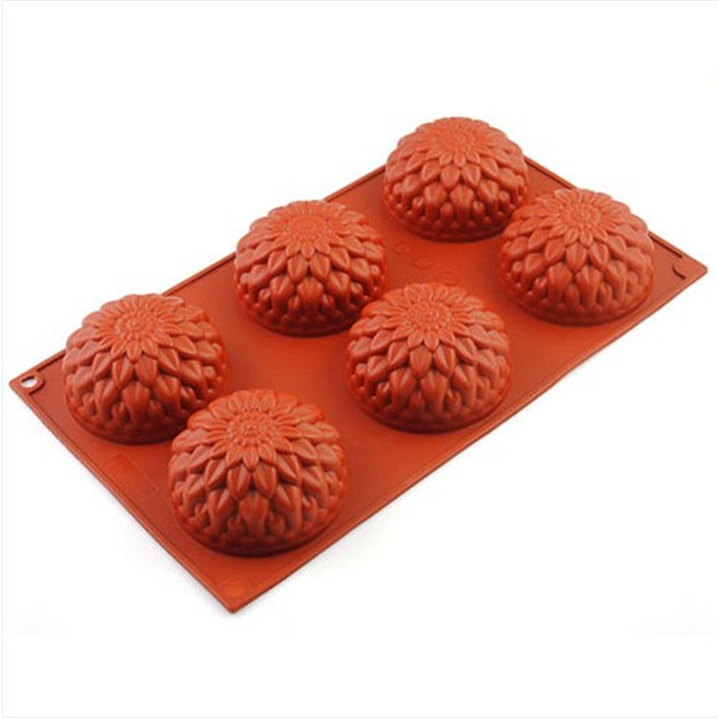 chocolate molds sunflower silicone cake mold silicone soap mold easy release