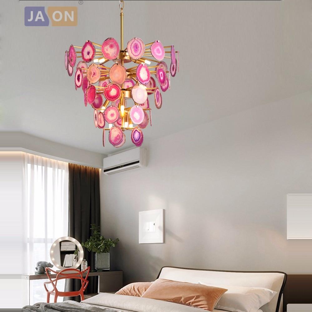 Led G9 Postmodern Iron Agate Designer LED Lamp LED Light.Pendant Lights.Pendant Lamp.Pendant Light For Dinning Room Foyer Store