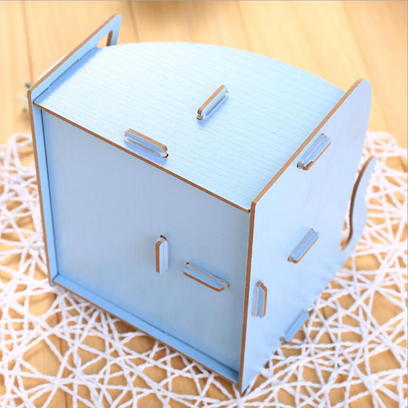 af1df1b8d9c5 US $7.45 |Wooden Storage Box For Jewelry Organizer For Cosmetics Cute Cat  Office Pen Box Container Desktop Storage Assembly DIY-in Storage Boxes & ...