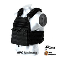 APC Armadillo Plate Carrier Ballistic Tactical Molle Gear Body Armor Bullet Proof Vest Belt Soft Armor