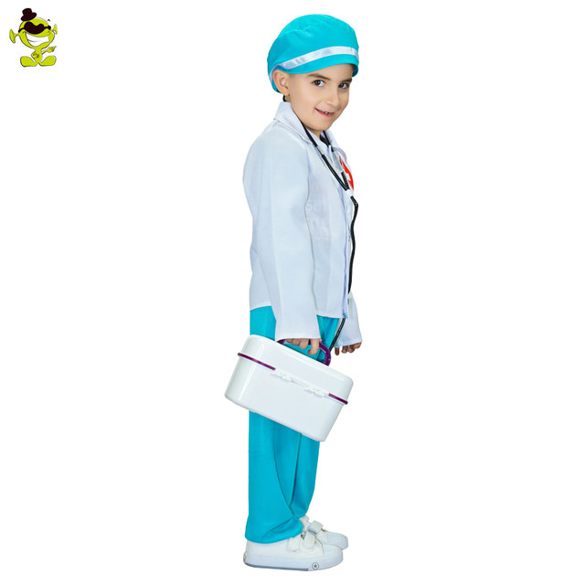 Doctor Costumes Girls Kind Nurse Cosplay Fancy Dress Kids Professional Mediciner Dress-up Clothing for Career Role Play Party  sc 1 st  Aliexpress & Online Shop Doctor Costumes Girls Kind Nurse Cosplay Fancy Dress ...