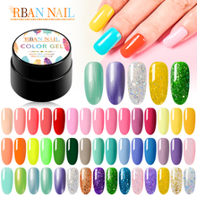 Nail Gel Polish Set All For Manicure Semi Permanent Top Coat UV Led Gel Varnish Soak Off Nail Art Gel Nail Polish Pure Color modelones 3pcs lot gel nail polish set kit semi permanent uv purple nail polish nail art soak off led uv nail salon set