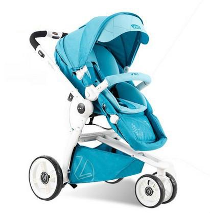 Carrinho dobrado alta paisagem pode sentar-se pode mentir suspensão crianças bb pram do bebê carrinho