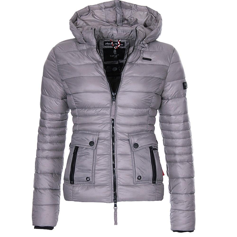 ZOGAA Brand New Women Winter Coats Cotton Paddedd Warm Overcoat Clothes Casual Solid Jacket Women   Parkas   Outerwear Coats