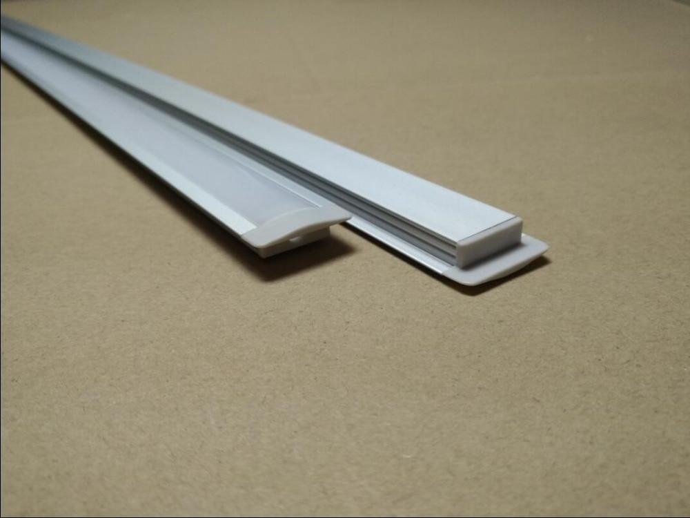 canal recesso perfil de alumínio com capa & termina