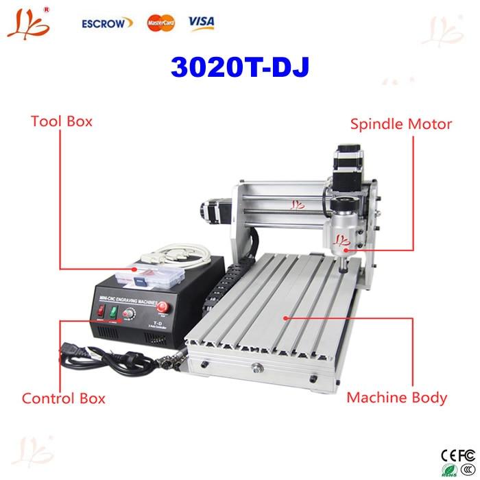 Mini Desktop cnc router CNC 3020T-DJ Upgrade From 3020T mini cnc milling machine  цены