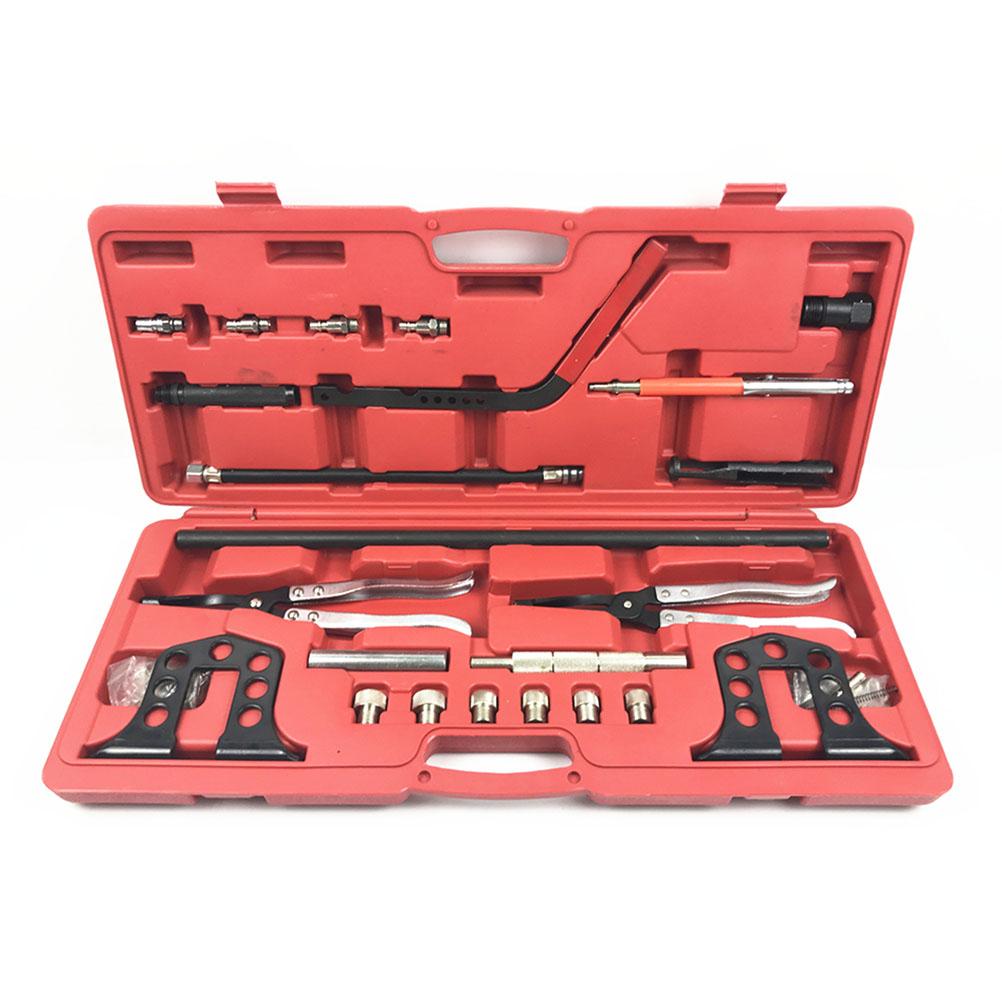 купить 36 Pcs Valve Seal Remover And Installer Kit Car Engine Valve Spring Clamp Compressor Tire Repair Tool Set For Car по цене 5948.42 рублей