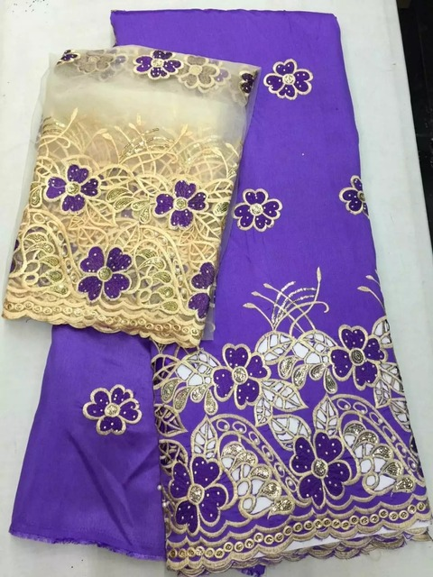 Wholesale Good quality cheap price Indian silk George lace fabric ...