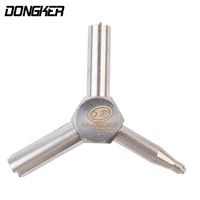 Element Multifunctional Valve Key Stainless Steel Air Valve Tools Removal Tool Men Outdoor Hunting Gun Accessories