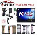 Hot Sale K TAG ECU Programmer KTAG V2.13 Hardware V6.070 No Tokens Limitation K TAG 2.13 Master Version ECU Chip Tuning Tool