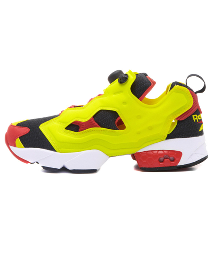 2019 Reebok Classics Instapump Fury Prototype 'citron'og Sports Bow Shoes Out Hollow Sneakers V47514 For Men And Women
