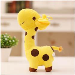 18 см унисекс милый подарок плюшевый жираф мягкая игрушка животных Дорогая кукла малыш ребенок Рождество День рождения Happy красочные Gifts5