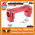 CR125 CR250 CR CRF CRF250R CRF250X CRF450R CRF450X Billet Manillar Fat Bar Risers 28mm Abrazadera del Montaje Dirt Bike Motocross Enduro