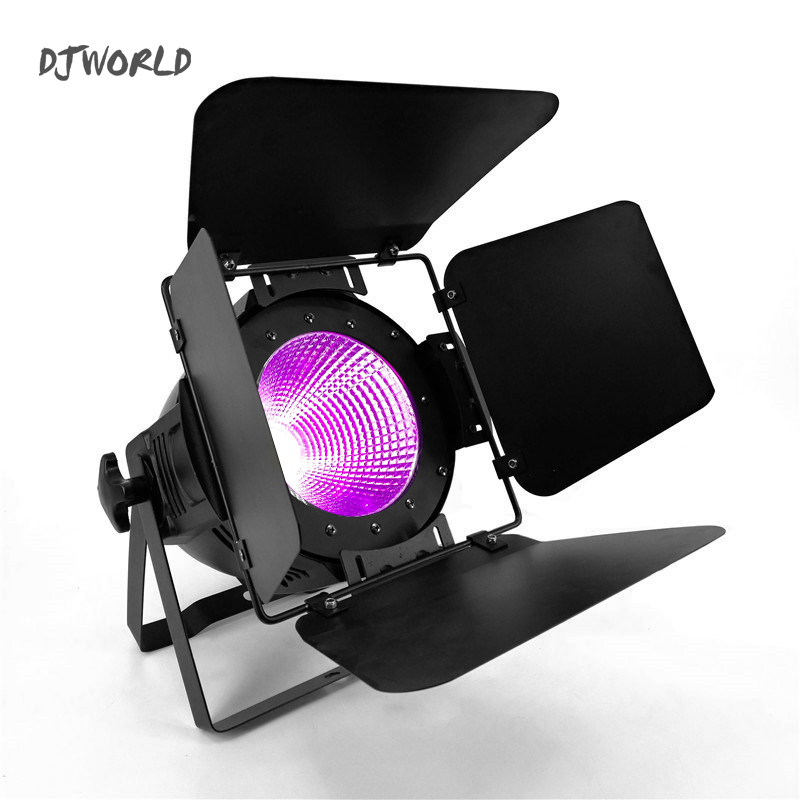 100W C0B <font><b>LED</b></font> <font><b>Par</b></font> <font><b>RGBWA</b></font>+UV And Mixed 6in1 Lighting Lamp Fixed Stage Effect For Stage Effect Light DJ Disco Lighting Party Light image