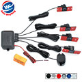 16mm Flat Sensors Car Parking Sensor Assistance Auto Reverse Backup Radar Alarm System + Sound Alert Indicator 6 Colors