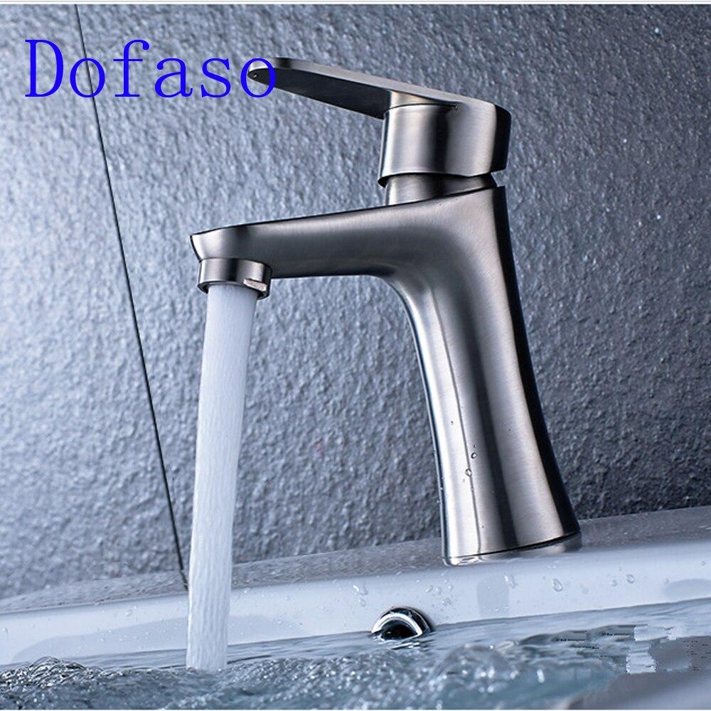 Dofaso Drawing faucet bathroom basin Faucets Hot Cold Water Mixer ...