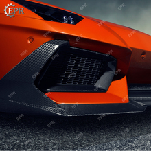 FRP&Carbon Front Lip For Aventador LP700 DM Style Front Lip with Canard Body Kits Tuning Trim Accessories For LAMBORGHINI LP700 цена
