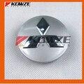 4 Подлинная Колеса Центр Caps Обложка Chrome для Mitsubishi Grandis Pajero Montero Shogun 4 IV 2007-2016