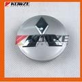 4 Genuine Wheel Center Caps Cover Chrome for Mitsubishi Pajero Montero Shogun 4 IV Grandis 2007-2016