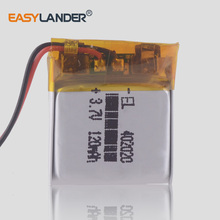 3.7V 120mAh 402020 Lithium polymer battery  Bluetooth speaker Bluetooth headset digital products small toys Tracking Units