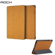 Rock uni серии магнитный смарт-чехол для ipad 2017 9.7 дюймов складной folio case с auto sleep/wake up функция бесплатная доставка