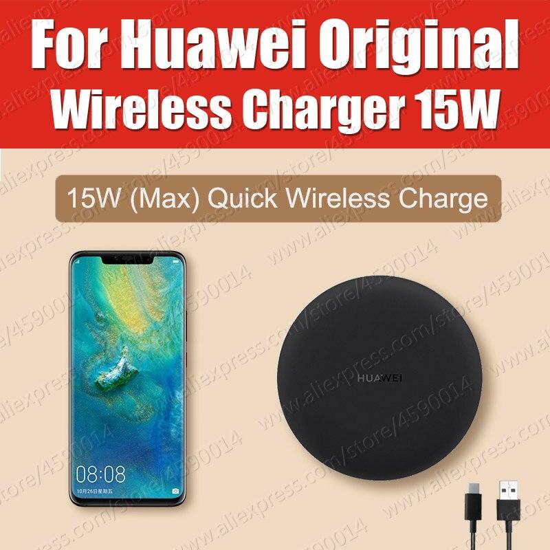CP60 WPC Qi Original HUAWEI Wireless Charger 15W MAX Apply For iPhone Samsung Huawei P30 Pro Mate20 Pro RS bone para bordar