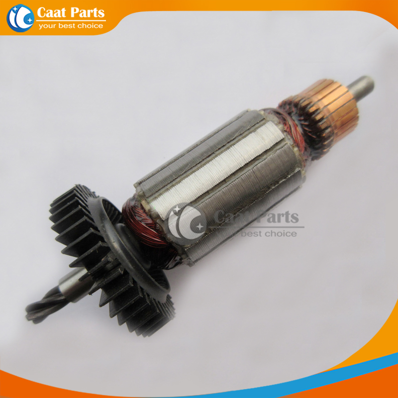 Free shipping! AC 220V 4 teeth Drive Shaft Electric Hammer Armature Rotor for Black & Decker P80-20, High-quality! free shipping ac 220v drive shaft electric hammer armature rotor for bosch gws14 150c high quality